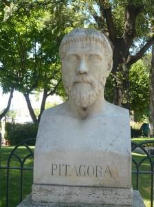 Buste de Pythagore